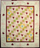 Tillie - Love with All Your Heart Lap Quilt and Wall Hanging Pattern