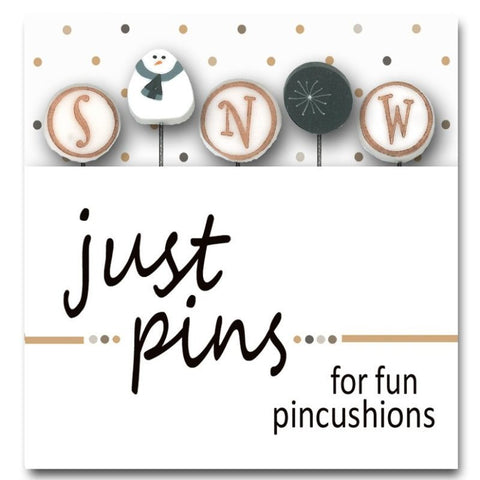 Decorative Pins - S is for Snow