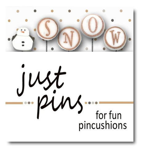 Decorative Pins - S is for Snowman