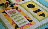 Save the Bees Block of the Month Quilt Pattern - Digital