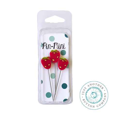 Decorative Pins - Strawberry Mini Pack