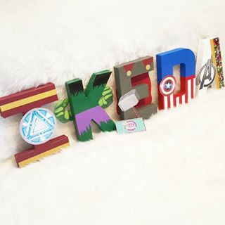 Multiple Character / Theme Design for Party Letter & Number Decor - Itty Bits Designs
