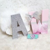CUSTOM Themed Birthday letters - 8 inch letter decor - Itty Bits Designs