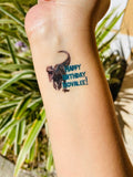 Custom Temporary Tattoos - 24 Tattoos - Itty Bits Designs