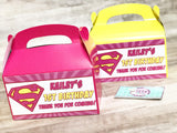 CUSTOM Party Favor Boxes - Gable Boxes - Treat Boxes - Itty Bits Designs