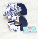 8 Inch CUSTOM Themed Letter Set Birthday Party Decor - Itty Bits Designs