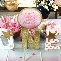 Little Star First Birthday Letters - Itty Bits Designs