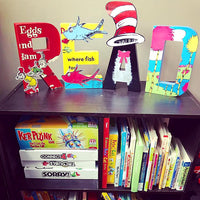 Seuss Themed READ Letters - Itty Bits Designs