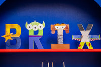 Toy Story Themed Birthday Letters - Itty Bits Designs