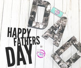 MOM/DAD Memory Letters - Itty Bits Designs