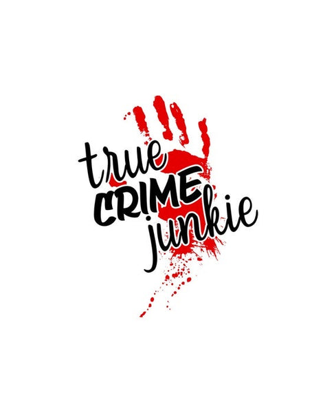 Crime Junkie Temporary Tattoos - Set of 25