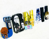 Star Wars Themed Birthday Letters - Itty Bits Designs
