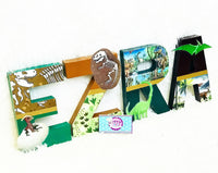 Dinosaur Themed Birthday Letters - Itty Bits Designs