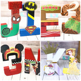 2 For $30 CUSTOM Letters and Number Combo Party Decor - Itty Bits Designs