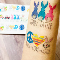 Easter Temporary Tattoos - Itty Bits Designs