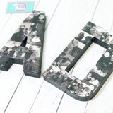 MOM and DAD Memory Letters Gift or Party Decor - Itty Bits Designs