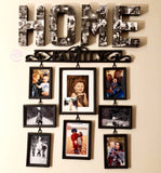 Home Photo Collage Letters - 8 Inch - Itty Bits Designs