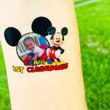 Custom PHOTO Temporary Tattoos - 24 Tattoos