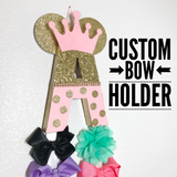 Initial Bow Holder - Itty Bits Designs