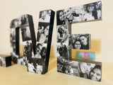 Love Photo Collage Letters - 8 Inch - Itty Bits Designs
