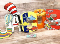 Seuss Themed Birthday Letters - Itty Bits Designs