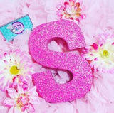 8 Inch Sparkle Letter Set for Birthday Parties - Itty Bits Designs