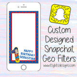 PREMADE SnapChat GeoFilters - Itty Bits Designs