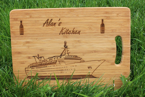 Chompboards.com - [product_type ] - 'Cruise Ship Holiday' Personalised Chopping Board