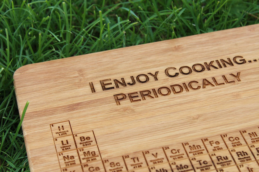 Periodic table of elements personalised engraved chopping board chompboards producttype periodic table of elements personalised chopping urtaz Choice Image