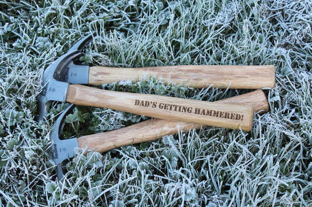 High Quality Personalised & Engraved Hammer (& Gift Tag)