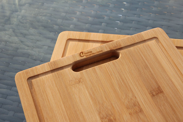 'British Beef Cow Steak Cuts' Personalised & Engraved Chopping Board
