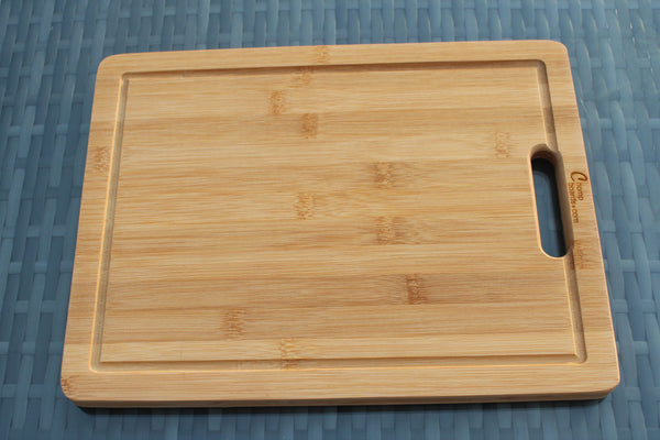'Fish, Meat, Bread, Veggies' Personalised & Engraved Chopping Boards (Singles or Set)