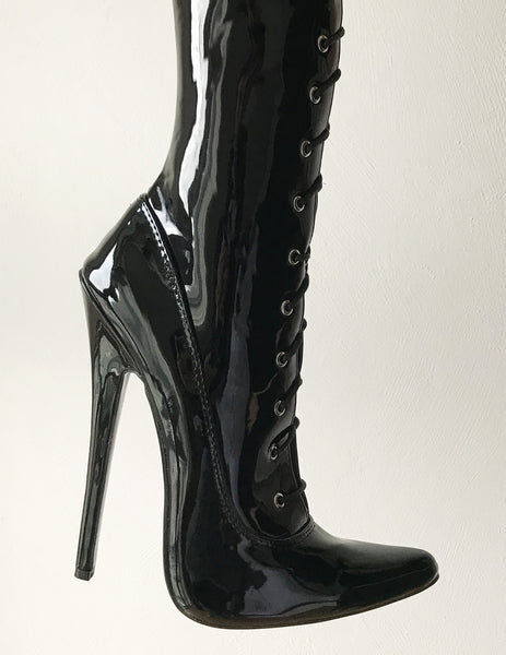 RTBU AVATAR Crotch Hi Hard Shaft  Laceup 18cm Stiletto Boots Personalized Shaft