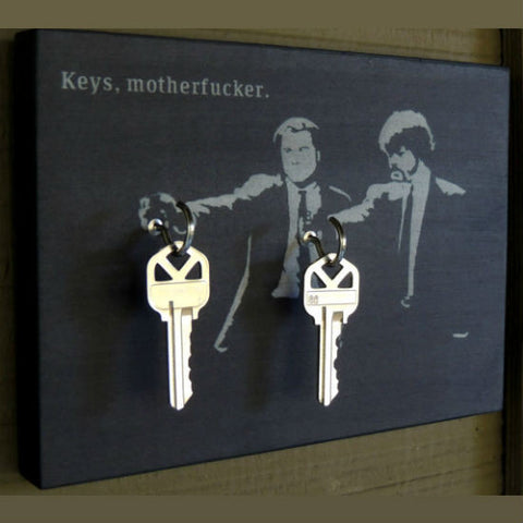 Keys Motherfucker Key Holder