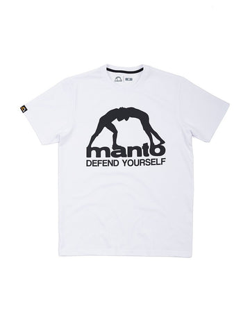 MANTO Camiseta DEFEND Blanca