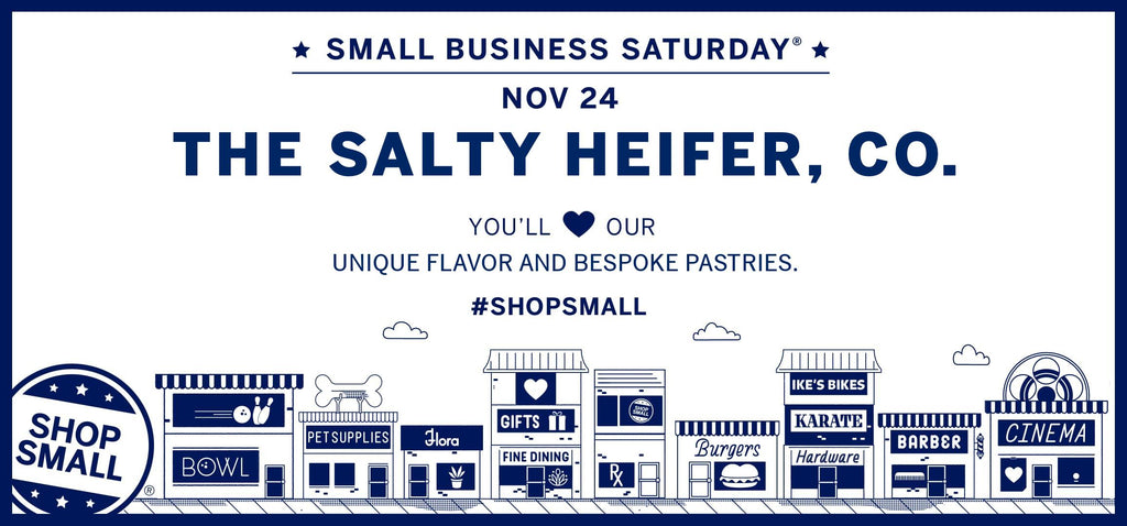 Celebrate Small Business Saturday with us!