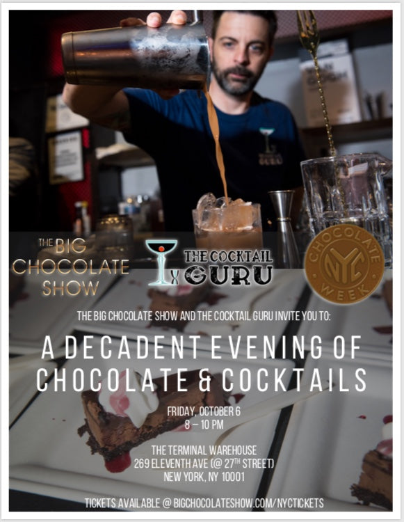 A Deliciously Decadent Evening of Chocolate and Cocktails