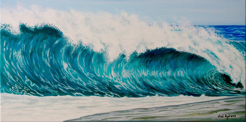 Shore Break Canvas Print