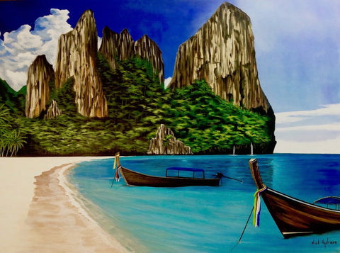 Thai Vacation Canvas Print