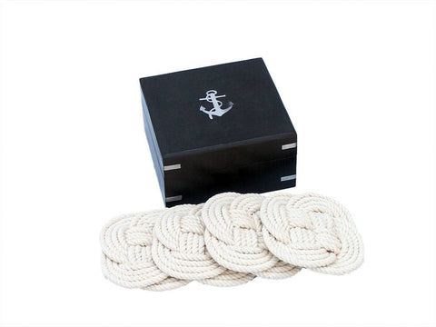 Rope Coastal Coasters - Set of 6