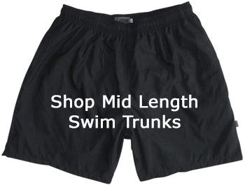 Shop Mid Length Mens Swim Trunks