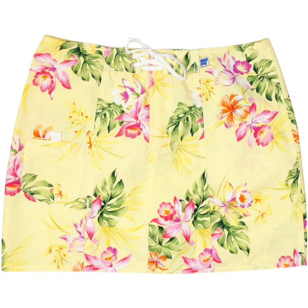 """Early Spring"" Original Style Board Skirt (Yellow or Blue) - Board Shorts World - 1"