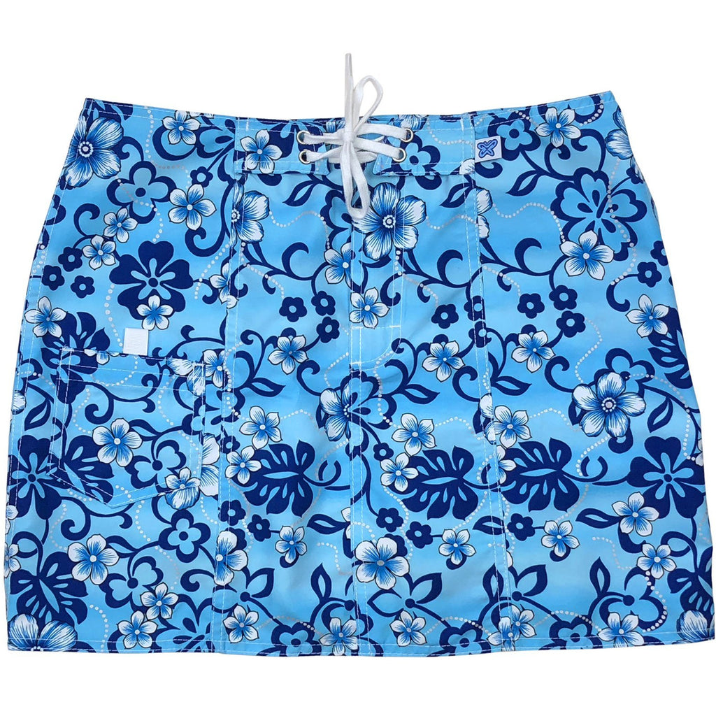 """Haywire"" Original Style Board Skirt (Blue)"