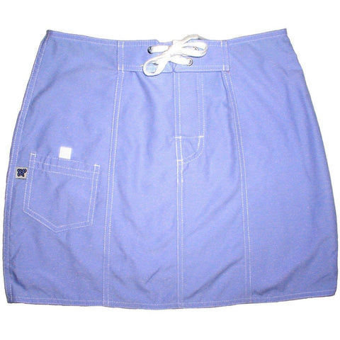 """A Solid Color"" Original Style Board Skirt   (Baby Blue) - Board Shorts World"