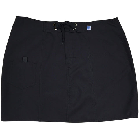 """A Solid Color"" Board Skirt (Black+Black Stitching) CUSTOM"