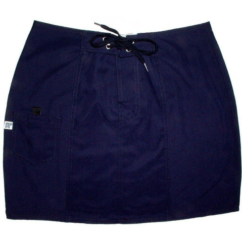 """A Solid Color"" Board Skirt (Navy) CUSTOM - Board Shorts World"