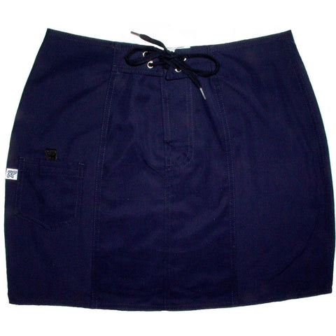 """A Solid Color"" Original Style Board Skirt  (Navy) - Board Shorts World"