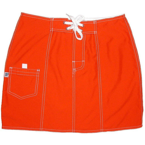 """A Solid Color"" Board Skirt (Orange) CUSTOM"