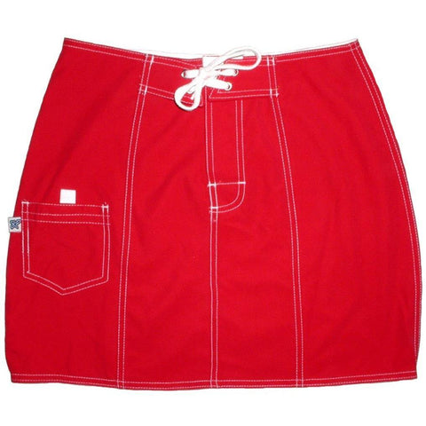 """A Solid Color"" Board Skirt (Red) CUSTOM"