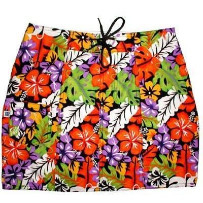 """Mother Lode"" Original Style Board Skirt (Black) - Board Shorts World"